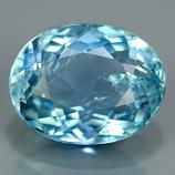 Genuine 100% Natural Blue Aquamarine 1.25ct 8.0x6.0 SI1 Ceylon Srilanka