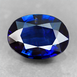 Genuine 100% Natural BLUE SAPPHIRE .58ct 6.3 x 4.6mm Oval