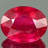Genuine RUBY 3.43ct 10.7 x 8.7 x 4.4mm Oval