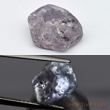 Genuine 100% Natural Purple Sapphire Rough 3.40ct 9.0x7.7x4.0mm Madagascar