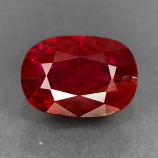 Genuine 100% Natural RUBY 1.10ct 7.1 x 5.0 x 3.0mm Cushion