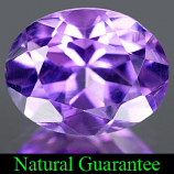 Genuine 100% Natural AMETHYST 2.08ct 9.2 x 7.2mm Oval