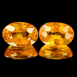 Genuine Yellow Sapphire 0.80ct 6.1 x 4.2 x 3.3mm Tanzania SI