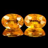 Genuine Yellow Sapphire 0.80ct 6.1 x 4.2 x 3.3mm Tanzania SI