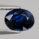 Genuine 100% Natural Blue Sapphire 1.49ct 7.0 x 5.2mm SI1 Thailand