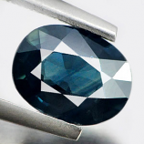 Genuine Blue Sapphire 1.46ct 8.4 x 6.5mm Oval SI1 Clarity