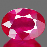 Genuine RUBY 2.94ct 9.0 x 6.8 x 4.7mm Oval