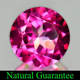 Genuine Pink Topaz 1.52ct 7.0 x 7.0mm Brazil IF