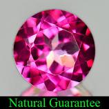 Genuine Pink Topaz 1.52ct 7.0 x 7.0mm Brazil IF