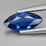 Genuine Blue Sapphire 0.66ct 8.7x4.0x2.3mm Marquise VS1 Thailand
