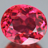 Genuine 100% Natural PINK TOURMALINE 1.20ct 7.0 x 6.0 x 4.2mm Oval