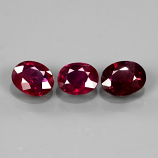 Genuine 100% Natural Ruby 0.41ct 5x4mm SI1 Mozambique
