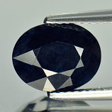 Genuine Midnite Blue Sapphire 2.92ct 10.3 x 8.1 x 3.8mm Madagascar
