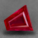 Genuine 100% Natural RUBY .41ct 4.5 x 4.4 x 2.4mm Trapezoid