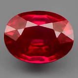 Genuine Ruby 2.07ct 8.1 x 6.2mm Oval SI Clarity