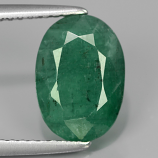 Genuine 100% Natural Emerald 2.63ct 10.5x7.5x5mm SI2 Zambia Oiled