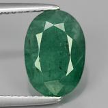 Genuine 100% Natural Emerald 2.63ct 10.5x7.5x5mm SI2 Zambia Oiled