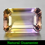 Genuine 100% Natural Ametrine 2.80ct 10.3 x 6.8mm Octagon VVS Clarity