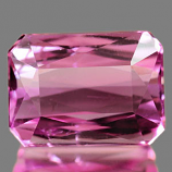 Genuine 100% Natural PINK TOURMALINE 1.05ct 6.8 x 4.9 x 3.5mm Octagon