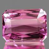 Genuine 100% Natural PINK TOURMALINE 1.05ct 6.8 x 4.9 x 3.5mm Octagon
