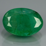 Genuine 100% Natural Emerald 2.19ct 10x7x4.3 I2 Pakistan UN (oiled)
