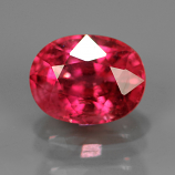 Genuine Pink Sapphire .74ct 5.5x4.2x3.5 SI1 Mozambique
