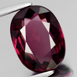 Genuine 100% Natural Rhodolite Garnet 2.68ct 9.5 x 7.0mm Oval VS2 Clarity