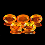 Genuine 100% Natural Fire Opal .26ct 6.2 x 4.2 x 2.4mm Mexico VVS