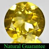 Genuine 100% Natural Citrine 3.27ct 10.0 x 10.0mm Round VS1 Clarity