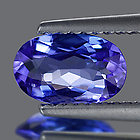 Genuine 100% Natural Tanzanite .95ct 7.7x5.2x3.3 VS1 Tanzania