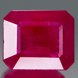 Genuine RUBY 3.10ct 8.5 x 7.1 x 4.5mm Octagon