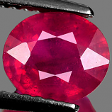 Genuine RUBY 2.09ct 7.8 x 6.8 x 4.5mm Oval