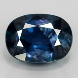 Genuine Blue Sapphire 1.14ct 7.0x5.2x3.2mm Oval SI1 Madagascar