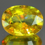 Genuine 100% Natural SPHENE 1.14ct 7.7 x 5.8 x 3.2mm Oval