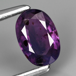 Genuine 100% Natural Purple Sapphire .57ct 6.0 x 4.0mm Oval SI1 Clarity