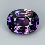 Genuine Purple Sapphire 1.09ct 6.4 x 5.0mm SI