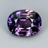 Genuine Purple Sapphire 1.09ct 6.4 x 5.0mm SI