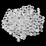 Genuine 100% Natural WHITE ZIRCON (117) 5.08cts 1.8 x 1.8mm Rounds