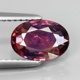 Genuine 100% Natural Purple Sapphire 1.56ct 9.0 x 6.2mm Oval SI1 Clarity