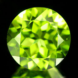 Genuine 100% Natural Peridot 2.29ct 8.0 x 8.0 x 5.4mm China VS1