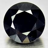 Genuine Black Sapphire 1.98ct 7.1x7.1x4.8 VS1 Austrailia
