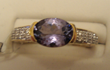 Chameleon Tanzanite Gold Ring 1.01ct 18k Yellow Gold Size 7 (Certified)