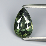 Genuine Green Sapphire 1.20ct 8.1 x 5.0mm SI