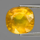 Genuine Yellow Sapphire 7.79ct 11x10.3x7.2mm I1 Madagascar