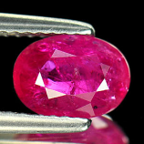 Genuine 100% Natural Ruby 1.55ct 8.2 x 5.8mm Tanzania VS1