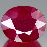 Genuine RUBY 4.39ct 10.0 x 8.2 x 5.7mm Oval