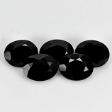 Genuine 100% Natural Black Spinel 2.07ct 8.9x7.1mm Opaque Thailand