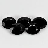 Genuine 100% Natural Black Spinel 2.07ct 8.9x7.1mm Opaque Thailand