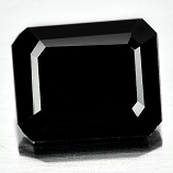 Genuine 100% Natural Black Spinel 4.12ct 10.0 x 8.2mm Octagon Opaque