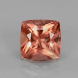 Genuine 100% Natural Padparadscha Tourmaline 1.52ct 7x7x4.7mm SI2 Mozambique